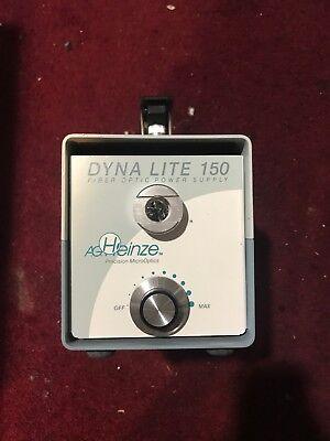Dyna Lite Dl-150 Fiber Optic Microscope Light Source Illumination Power Supply