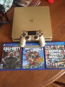 Limited edition gold tb PS4