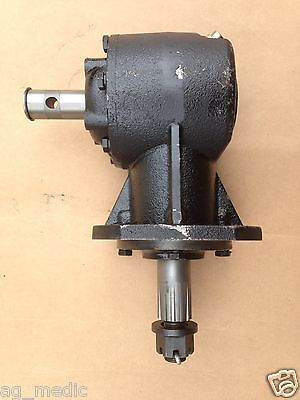 Replacement Gearbox For Skid Steer Rotary Cutter 11.93 Ratio Smooth Input Shaft