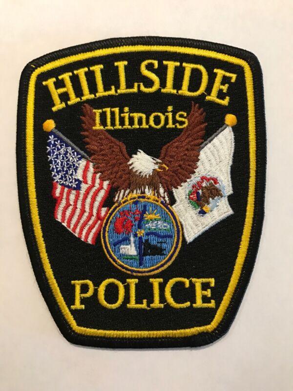 Hillside Illinois Police Department Patch Il