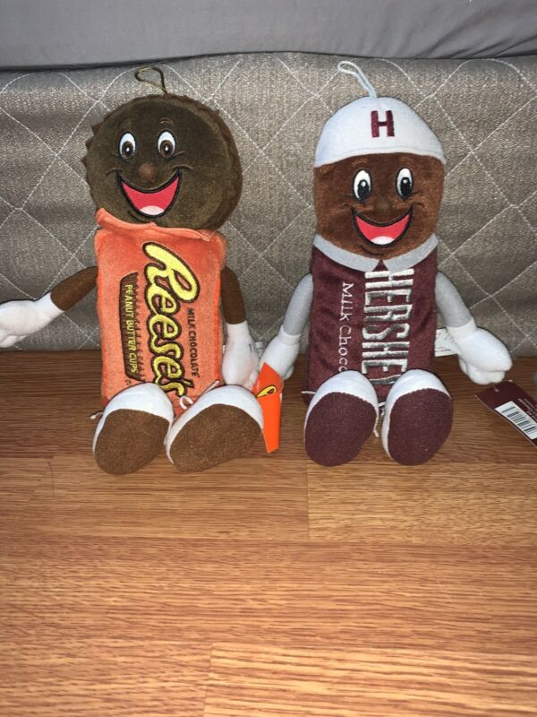Reeses And Hersheys Plush With Tags