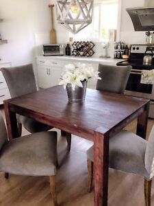 RUSTIC STRUCTUBE DINING TABLE!! (does not include chairs)