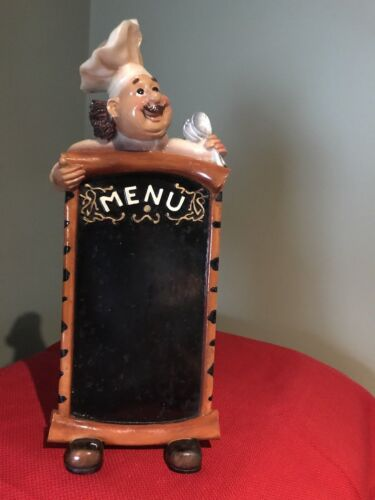 "Chef Bistro Menu Holder 13"" x 5-1/4"" Unbranded"