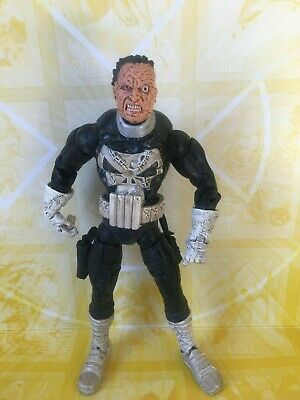 Marvel Legends Toybiz Face-Off Series Jigsaw Punisher Action Figure (K)