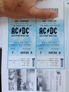 2x ACDC tickets Sydney 4th november Bilgola Pittwater Area Preview