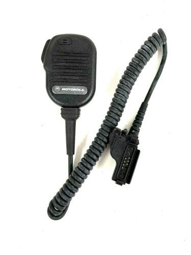 NEW MOTOROLA NMN6191C Noise Cancelling Speaker Mic HT1000 XTS3000 5000