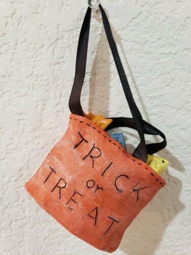 Halloween Trick or Treat Bag Tree Ornaments Decorations Decor