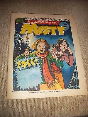 ORIGINAL MISTY COMIC NUMBER ONE ISSUE NO GIFT
