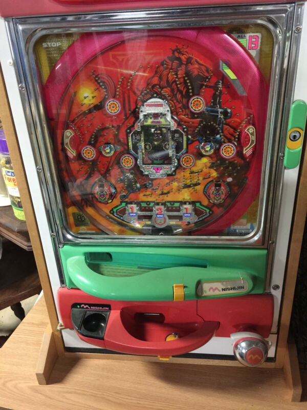 Pachinko Machine, NISHIJIN  Kings Lion Helicopter