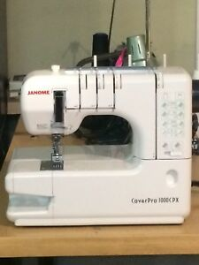 Janome Coverstitch CoverPro 1000CPX sewing machine