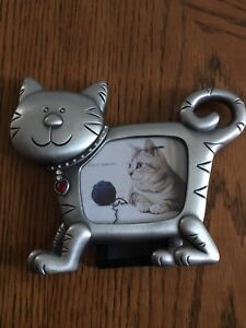 Cat Shaped Picture Frame