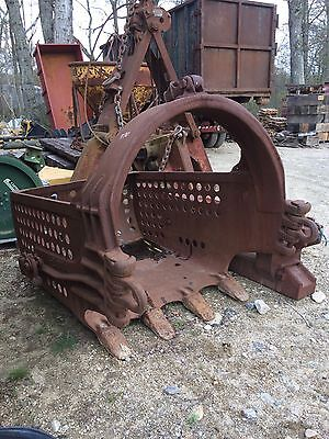 Hendrix Dragline Crane Pond Dredge Bucket Free Ship W25 Miles Only