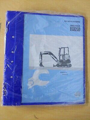 Volvo Construction Equipment Ecr25d Service Manual