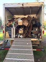 We take away junk removal & Garage/home cleanup/shed-deck demo