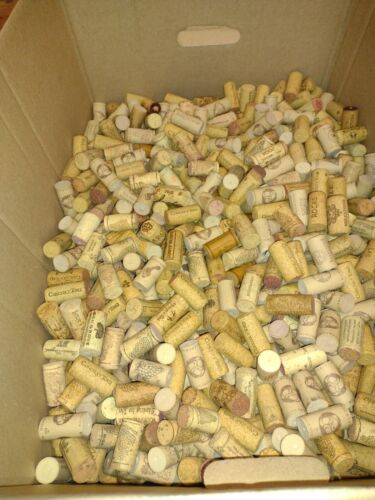 Over 1000 Used Wine Corks 25 lbs Crafting Art Decor