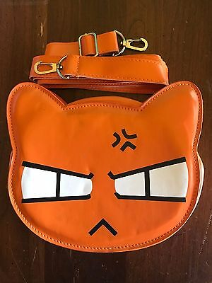 Fruits Basket Kyon Orange Cat Kitty Purse Collectible USA Seller