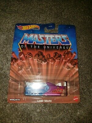Hot Wheels 1:64 Retro Entertainment Masters of The Universe Land Shark DMC55