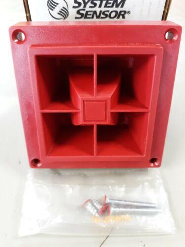 SYSTEM SENSOR MA12/24D RED Multi-Alert Sounder Fire Alarm Wall Horn 12/24VDC