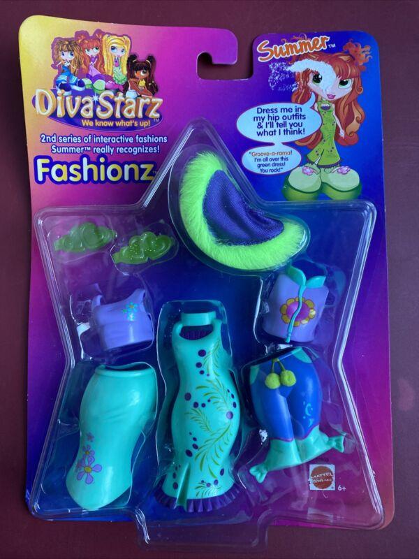 2001 Diva Starz Fashion Doll Series 2 Fashionz SUMMER Interactive Accessories