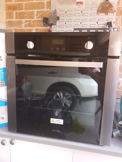 Omega 600mm stainless steel and glass oven