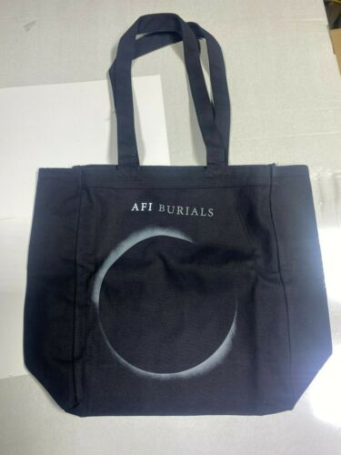 AFI Burials tote bag   OFFICIAL MERCHANDISE NEW