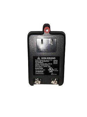 Power Supply Plug-in Transformer 120vac 60hz 160ma Output 12vac 0.83a