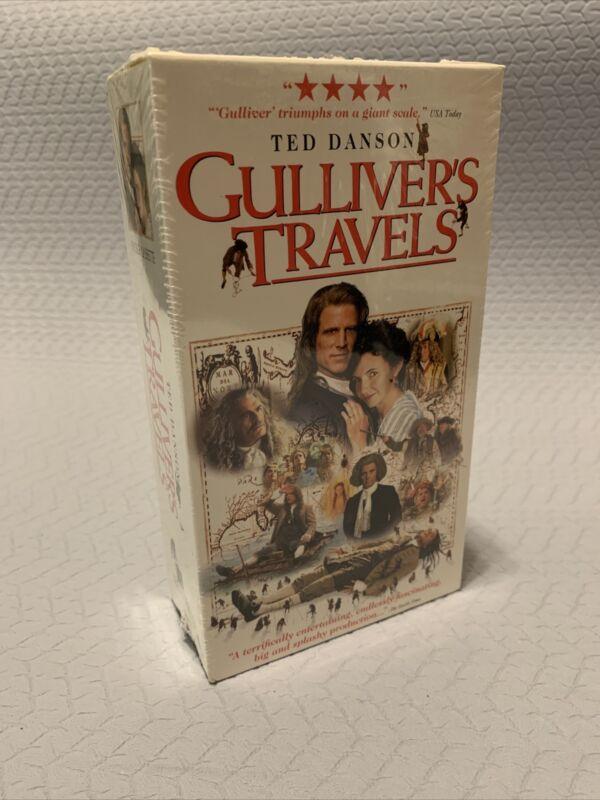 Gullivers Travels (VHS, 1996, 2-Tape Set) - Rare!