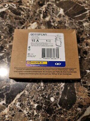 Square D Qo115pcafi 15 Amp Single Pole 120v Arc Fault Protection Circuit Breaker