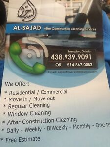 Thorough Household/Commercial Cleaning Services