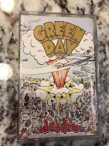 Green Day Dookie Cassette Audio Tape with Insert Like New
