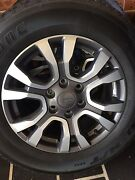 Ford ranger wildtrak wheels rims tyres Quakers Hill Blacktown Area Preview