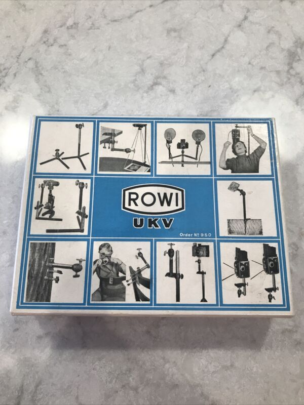 ROWI UKV No 960 Camera Stand Holder In Box Germany Nice Condition