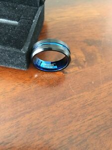 Tungsten carbine men's ring