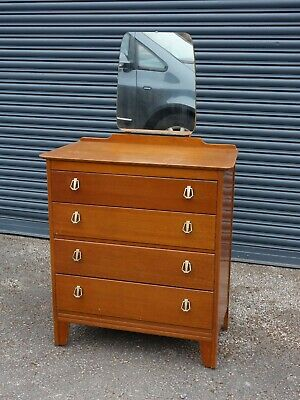 Vintage Chest of Drawers with Mirror / Art Deco Style / Retro