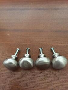 Brushed Nickle  Cabinet Knobs