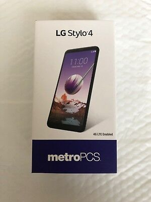 LG Stylo 4,  32GB - Black (MetroPCS) UNLOCKED WORLDWIDE Smartphone