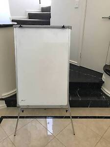 Magnetic Whiteboard with Flipchart paper on Easel/tripod stand Dianella Stirling Area Preview