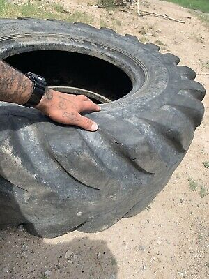 400 Lb Ultimate X Training Fit Heavy Tractor Tire Pro Extreme Workout Wheel Lift