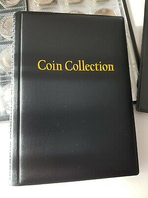 COIN ALBUM  for 120 coins. STORAGE BOOK for 50p, 2£, 1£