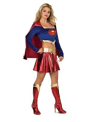 Superhero Costume For Women (Rubies Costume Company Adult Sexy Supergirl Women's Costume 888441X)