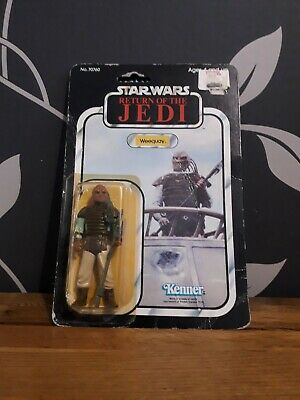 STAR WARS RETURN OF THE JEDI VINTAGE WEEQUAY 1983