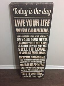 Inspirational Wall Hanging