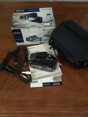 Sony HandyCam HDR-PJ200 Full HD 1080 Projector Camcorder with Carrying Case Handycam Carrying Case