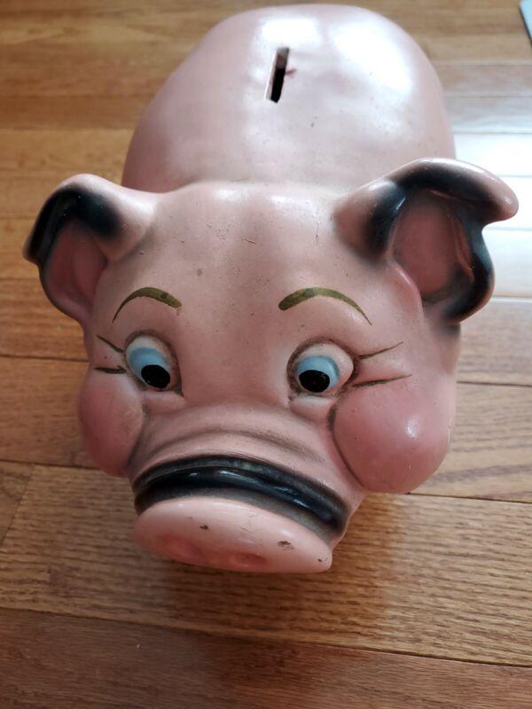 Vintage 1950s Piggy Bank