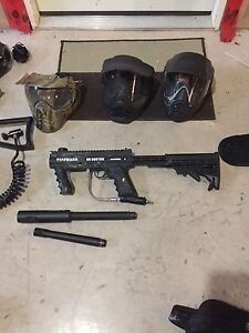 Paintball markers and gear. All in good shape.