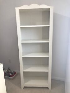 Ikea bookshelf white