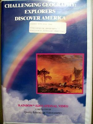 4 VHS ~ Explorers Discover America, Earth Day, MLK Day & Healthy Habits](Discover America)