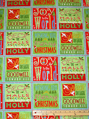 Best Tree on the Lot Christmas Northcott Fabric Panels 23
