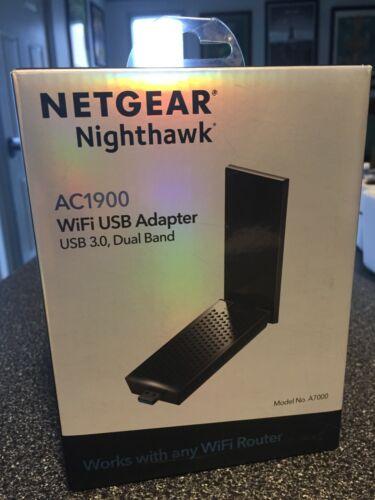 Netgear Nighthawk AC1900 Wi-Fi USB Adapter (A7000-10000S)