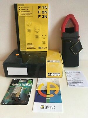 Chauvin Arnoux F2n Digital Current Clamp New Complete With All Supplies